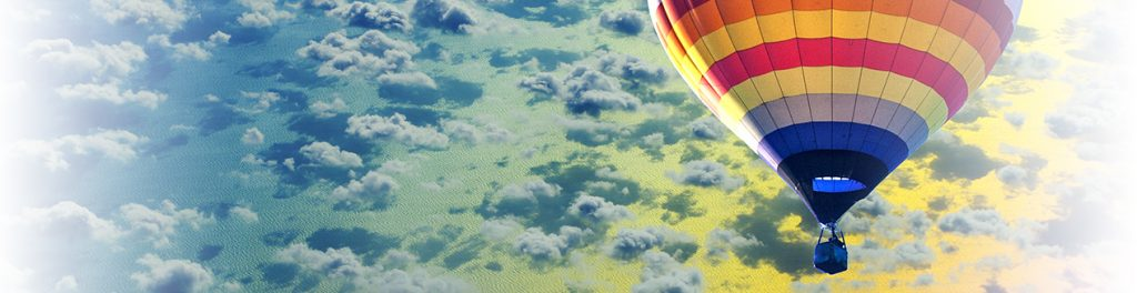 Air Balloon in Clouds
