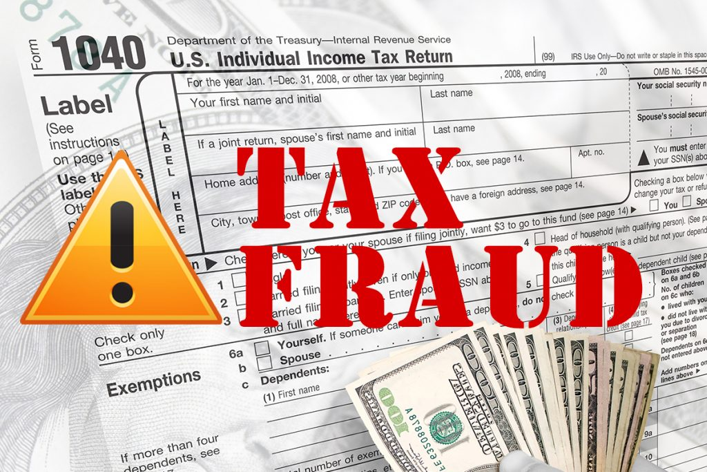 Tax Fraud Document